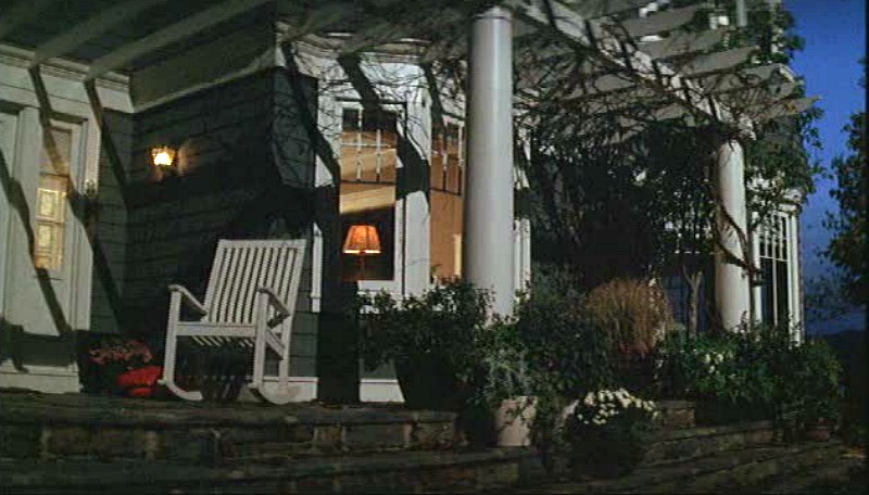 What Lies Beneath movie house side porch pergola