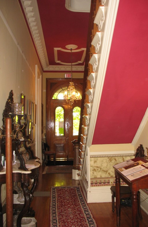 grand entry hall in Promont House