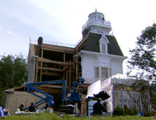 taking down the Practical Magic house