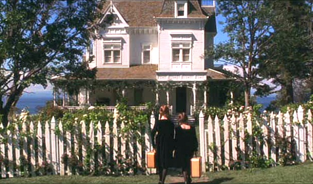 white picket fence Practical Magic house