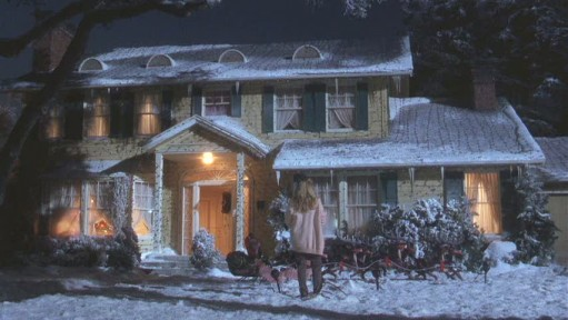 Christmas Vacation house-before lights