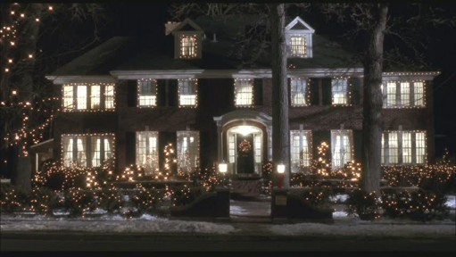 Home Alone house in lights 2