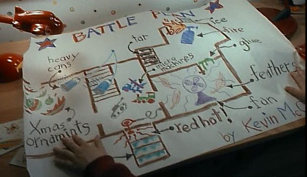Kevin\'s floor plans for the Home Alone house