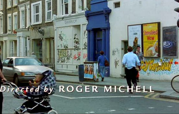 Notting Hill movie blue door