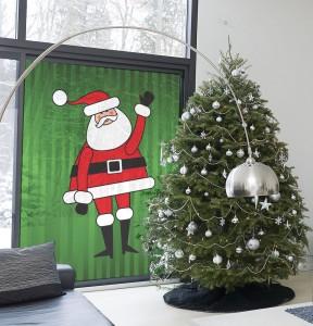 Santa-window