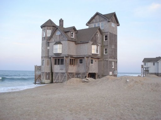 The real house used in Nights in Rodanthe