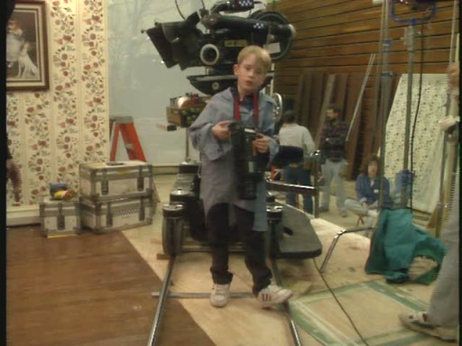 filming Home Alone 2