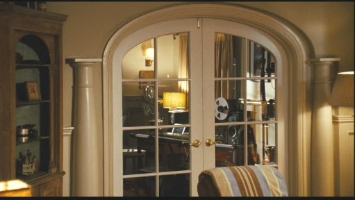 french doors into study