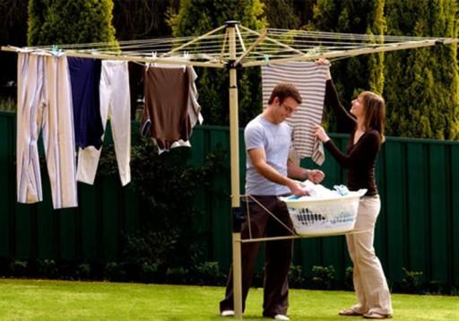 rotary clothesline