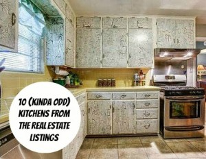 10 Kinda Odd Kitchens from Real Estate Listings