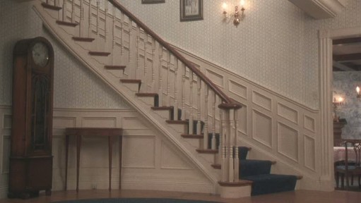 Christmas Vacation movie-staircase