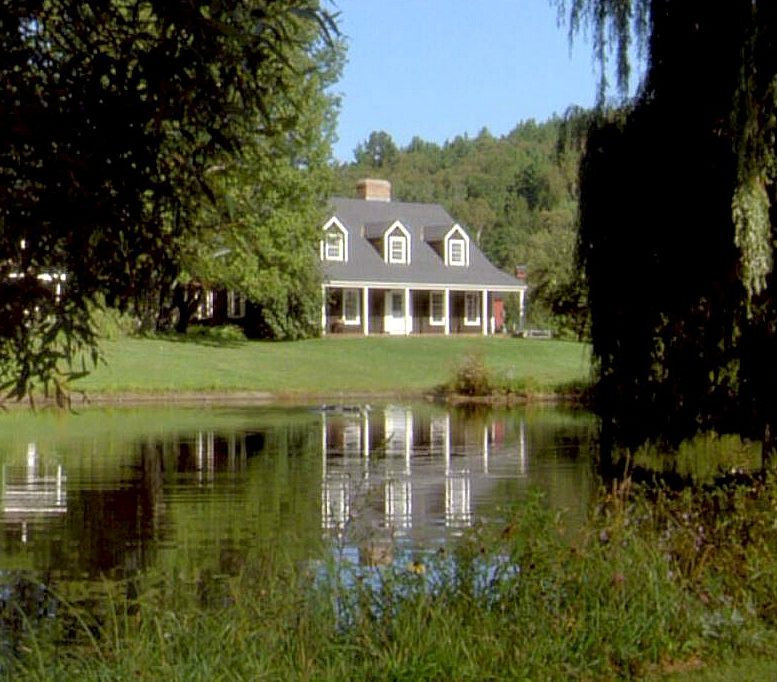 Funny Farm house on the pond