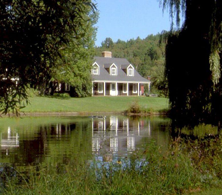 Funny Farm house on the pond