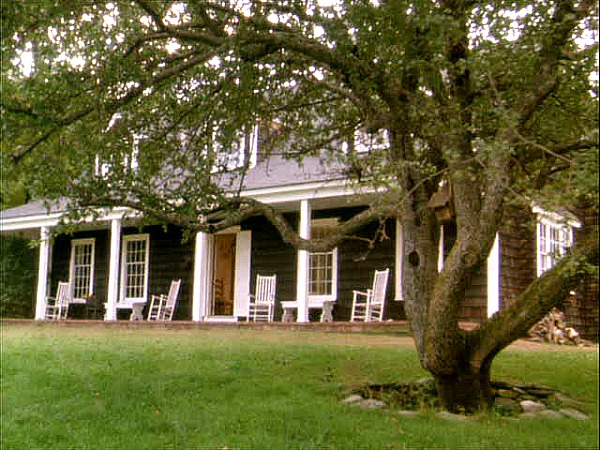 Funny Farm movie house-front porch