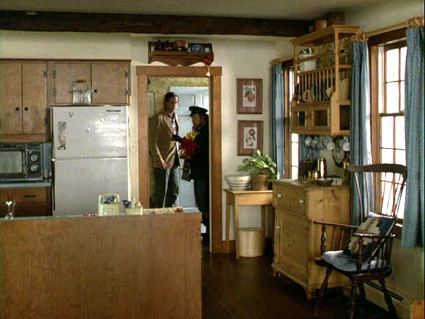 Funny Farm movie house kitchen