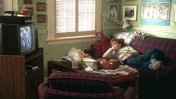 Griswold house Christmas Vacation TV Room