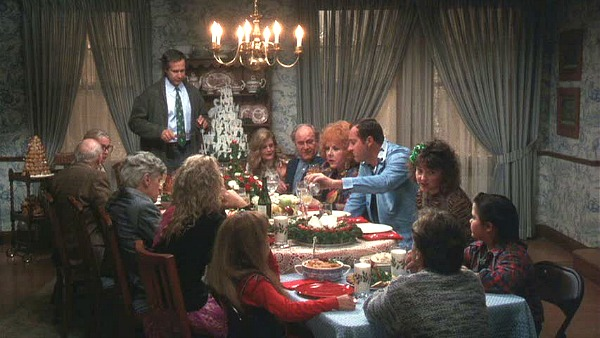 Griswold house Christmas Vacation movie dining room 2