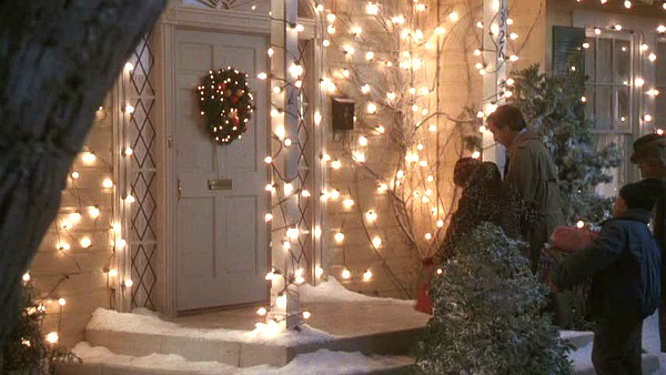 Griswold house Christmas Vacation movie front door