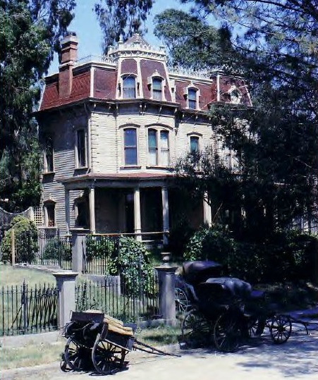 Meet Me in St. Louis house on backlot in 1970s