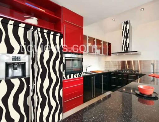Kitchens Gone Wild: Animal-Print Appliances