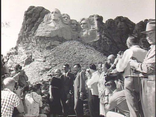 Actors at Mt. Rushmore