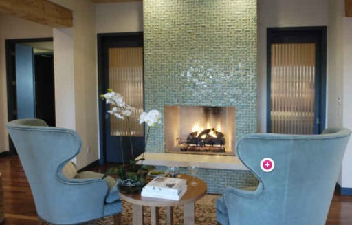 Dream Home-tile fireplace