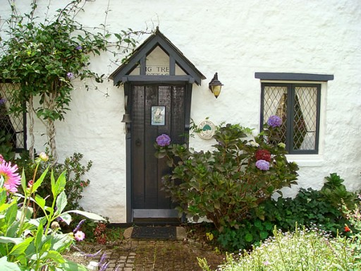 Fig Tree Cottage-front door