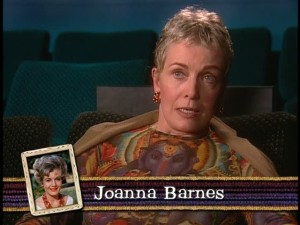 Joanna Barnes (Vicki) today