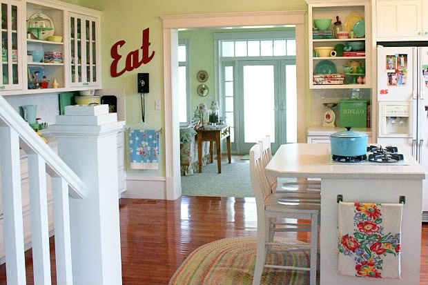 Meadowbrook Farm A New Kitchen With Vintage Appeal