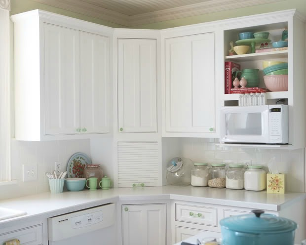 Meadowbrook Farm vintage kitchen cabinets