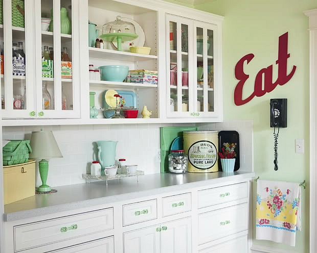 Meadowbrook Farm vintage kitchen