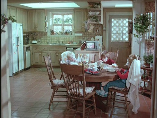 Mr. Mom kitchen-wide shot