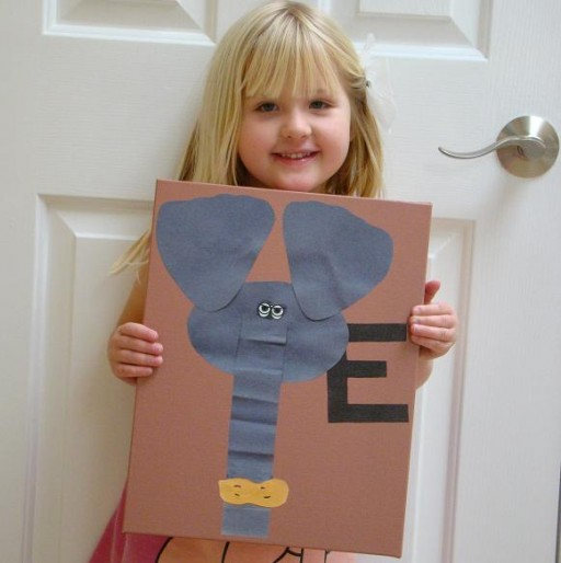 My Kids Art-elephant
