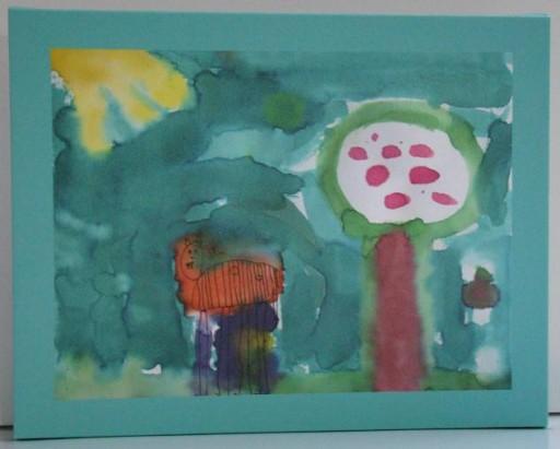 My Kids Art-turquoise