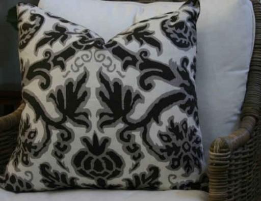 Pomegranate pillow