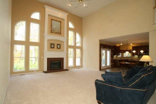 two-story family room 1-mls