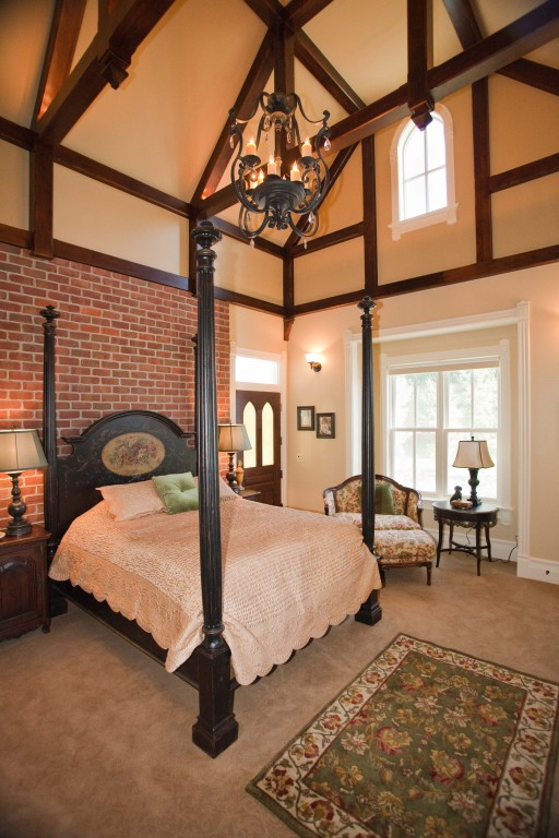 Derek's Gothic Revival bedroom