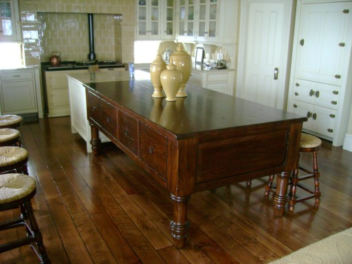 Derek's Practical Magic kitchen-island