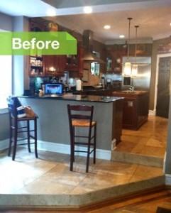 Kitchen in Atlanta before remodel