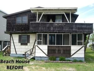 Latitude Adjustment Beach House BEFORE