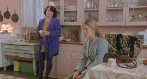 Meg Ryan's kitchen-china wall