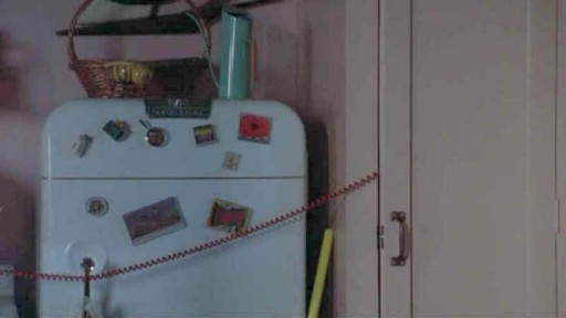 Meg Ryan's old fridge-phone cord