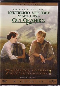 Out of Africa DVD cover