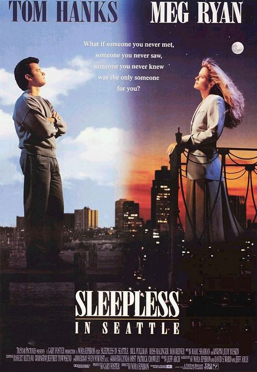 Sleepless in Seattle movie DVD