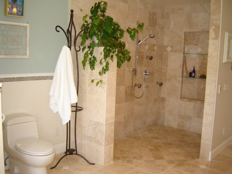 limestone shower after
