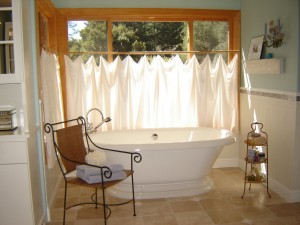 master bath makeover freestanding tub