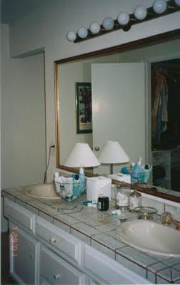old sink area