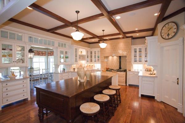 AGA range in Practical Magic-inspired kitchen