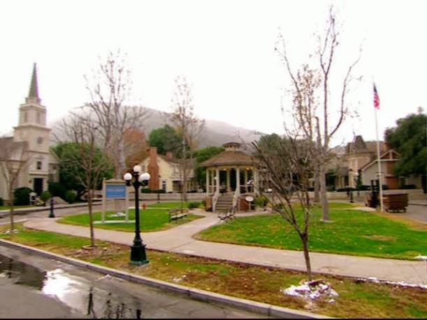 Gilmore Girls town set