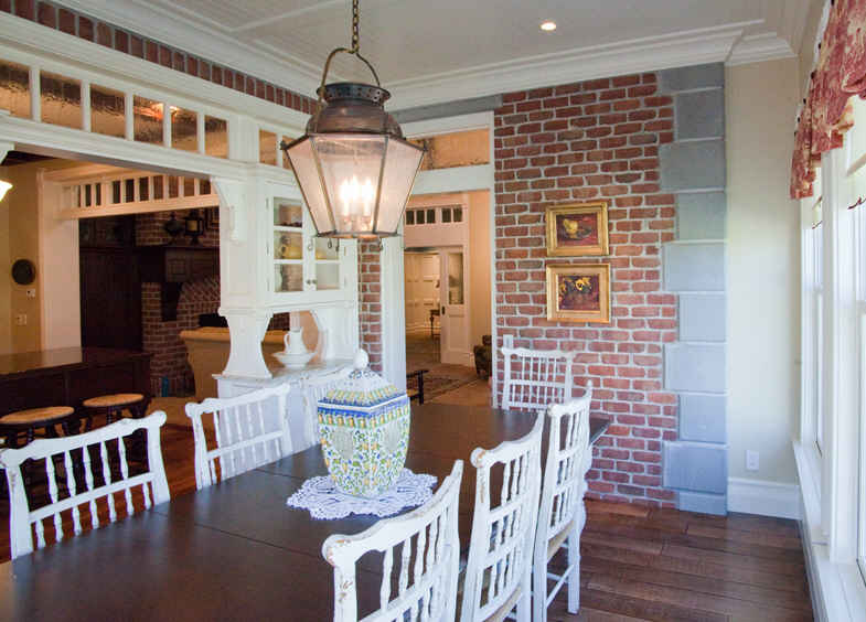 """Kitchen design inspired by """"Practical Magic"""" house"""